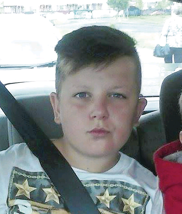 Caoimhin Russell who was set alight in an attack close to Havana Walk, Ardoyne