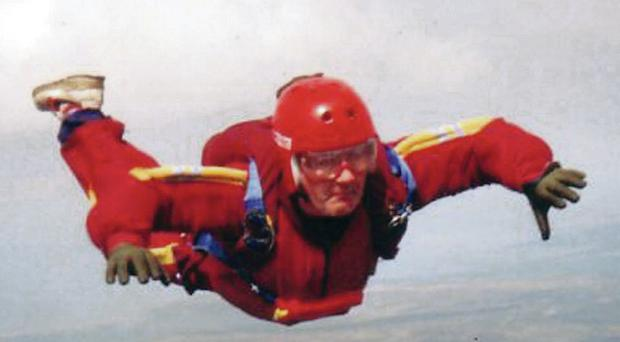 Skydiver and amateur photographer John McCourt died in Co Donegal on Sunday