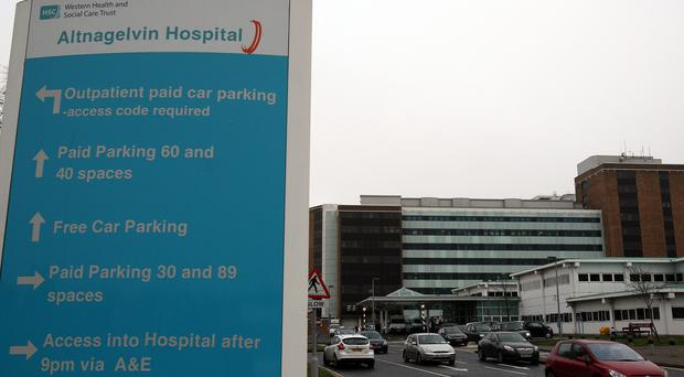 Caolan Burke died at Altnagelvin Hospital 10 days after his birth in December 2011 after contracting pseudomonas