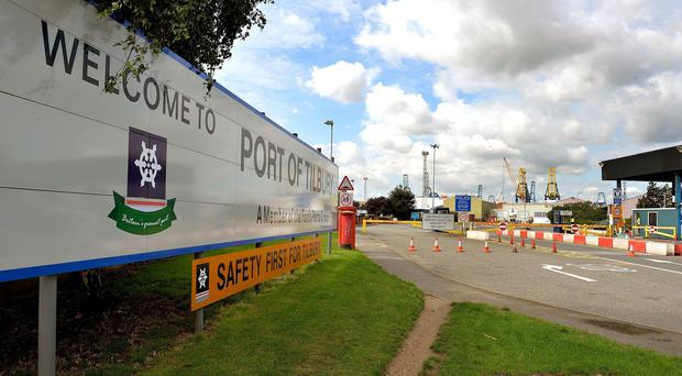 A man was found dead in a shipping container at Tilbury Docks in Essex