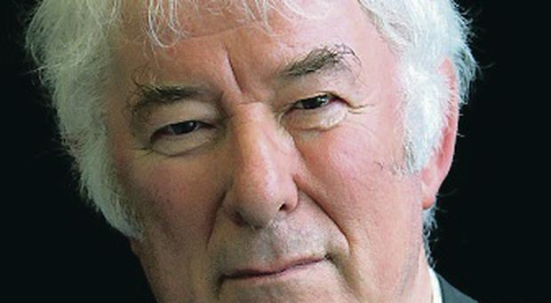 Fitting tribute: Seamus Heaney