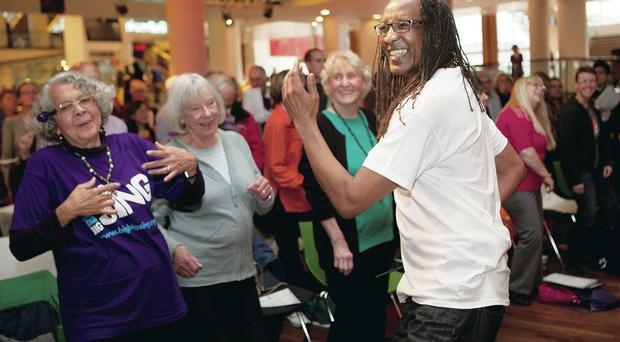 The Big Big Sing takes place at the Whilta Hall in Belfast in October