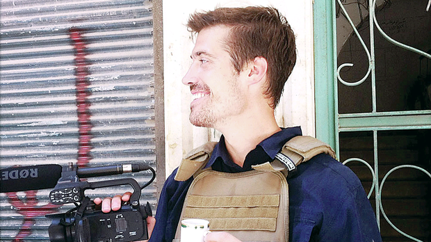 James Foley was decapitated by a masked militant with a London accent