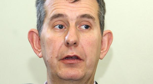 Health Minister Edwin Poots has indicated his intention to resist budget cuts