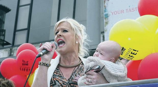 Sanctity of life: Bernadette Smyth has spent 17 years of her life campaigning against abortion