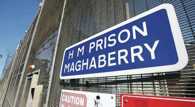 Roe House in Maghaberry Prison was built in 1999 and houses republican prisoners, including several of Northern Ireland's most high-profile terror suspects