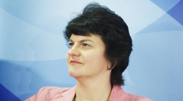 Arlene Foster has signed a trade agreement linking Northern Ireland with the Isle of Man