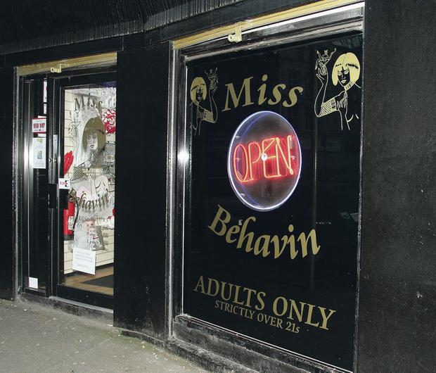 Miss Behavin operates in Belfast city centre despite the council refusing to grant a licence in 2003