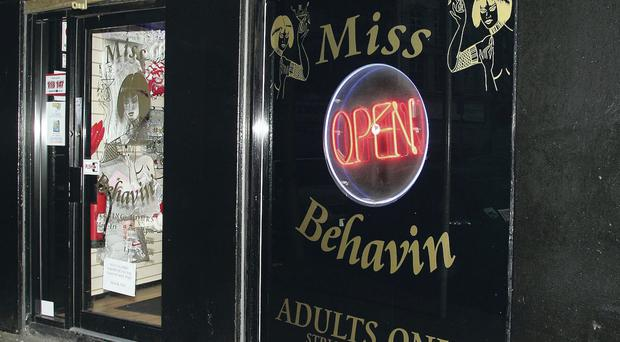 In 2003 the council refused a licence for Miss Behavin' and announced a total ban on sex shops