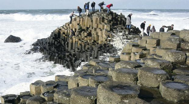 Women were last seen at the Giant's Causeway