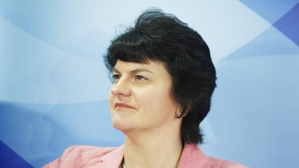 Arlene Foster said that GR White was an example of a successful family business