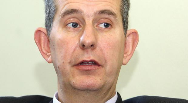 Health Minister Edwin Poots warned that a winter vomiting bug could cause a crisis in the health service