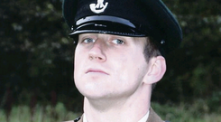 Lance Corporal James Ross was found hanged at Ballykinler in 2012
