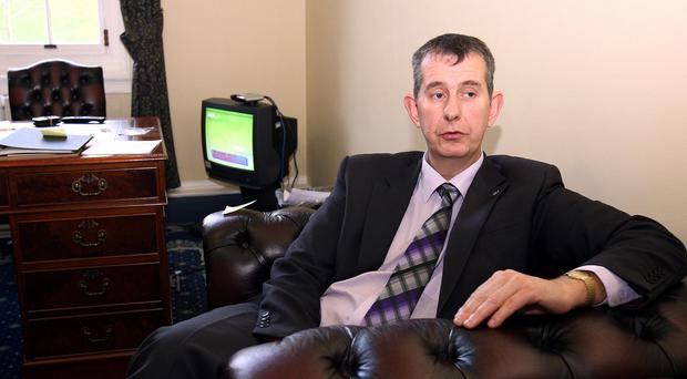 Edwin Poots described the figures as