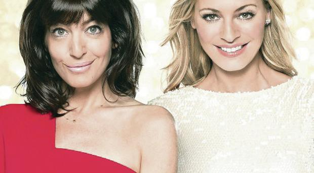Hosts Claudia Winkleman (left) and Tess Daly