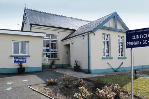 Clintyclay Primary School in Co Tyrone
