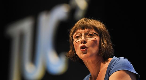 Frances O'Grady highlighted the plight of the underemployed