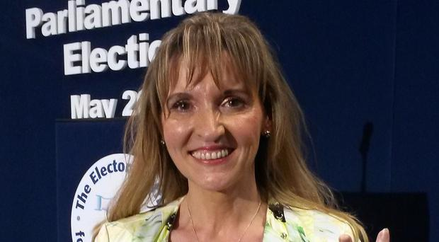 Martina Anderson criticised Israel's stance on a visit to Gaza