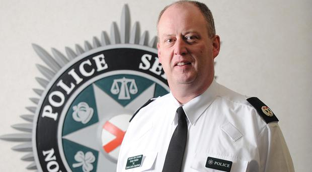 PSNI Chief Constable George Hamilton says the police's primary role