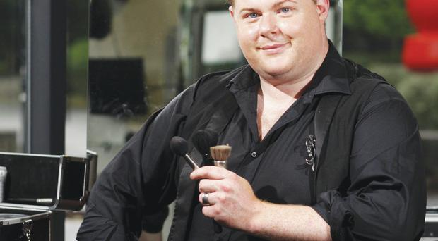 The man behind the make-up: Paddy McGurgan