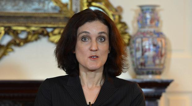 Northern Ireland Secretary Theresa Villiers delivered what she described as
