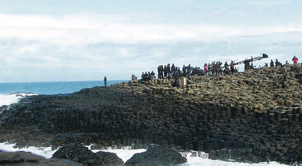 Filming the $100m epic Dracula Untold at the Giant's Causeway