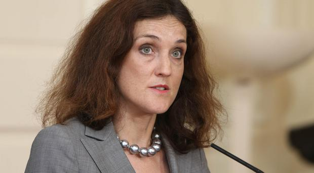 Theresa Villiers met Martin McGuinness and Alasdair McDonnell for separate discussions