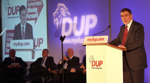 Nelson McCausland is calling for regeneration