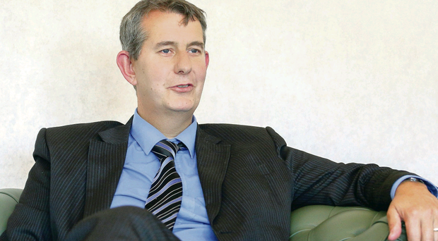 Edwin Poots yesterday as he revealed his proposals to ask the Executive to help finance new drug fund