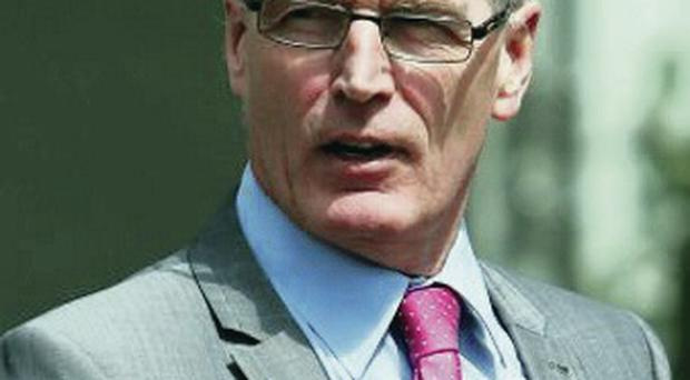Pledge: Sinn Fein's Gerry Kelly