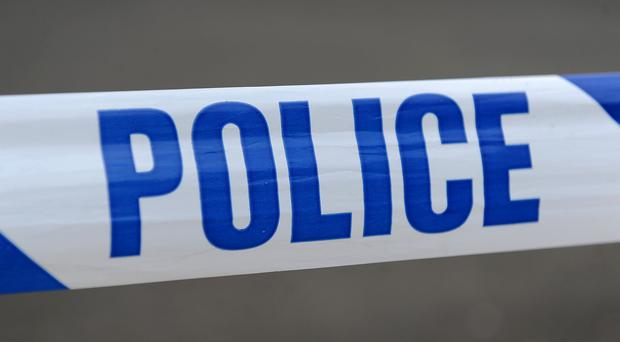 Police attended a property in Ballymena.