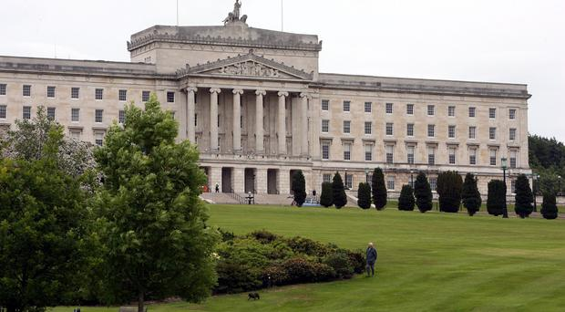Only informal talks were held on the budget at Stormont