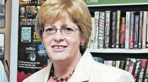 Libraries NI chief Executive Irene Knox