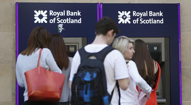 RBS customers reported being unable to withdraw cash from some ATM machines