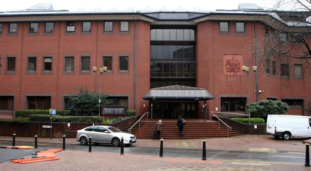 Lance Corporal Richard Farrell is facing trial at Birmingham Crown Court