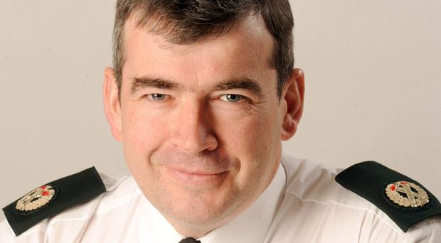 Drew Harris was made deputy chief constable of the Police Service of Northern Ireland two weeks ago