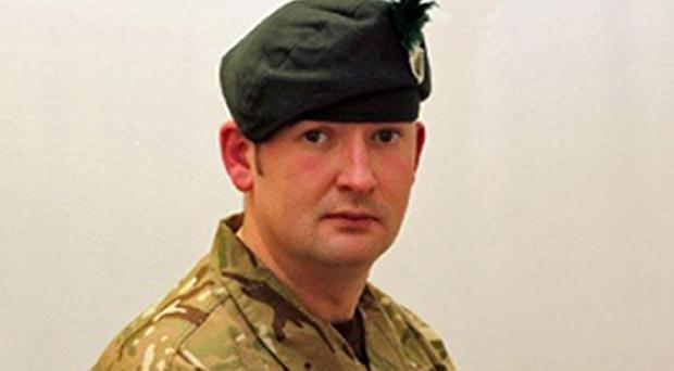 Corporal Geoffrey McNeill was found dead in his room at Tern Hill's Clive Barracks in Shropshire