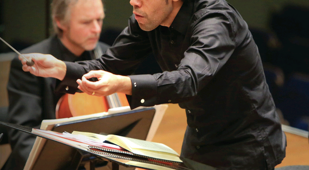 Under threat: the Ulster Orchestra under the baton of Rafael Payare