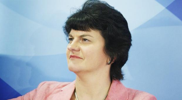 Arlene Foster welcomed the creation of a call centre at the Killyhevlin Industrial Estate in Enniskillen