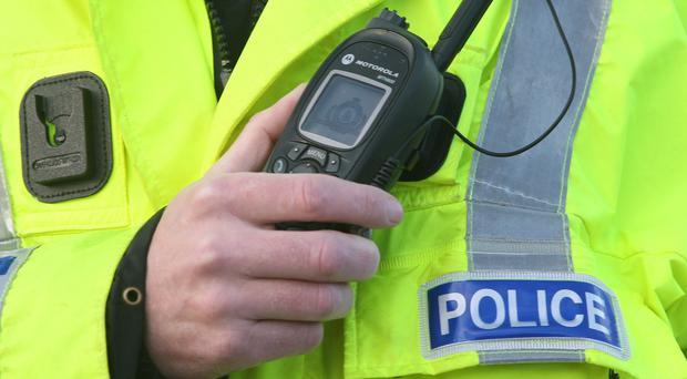 Police said a man suffered a bullet wound in his left leg in an estate in Londonderry after being attacked by a man wearing a balaclava