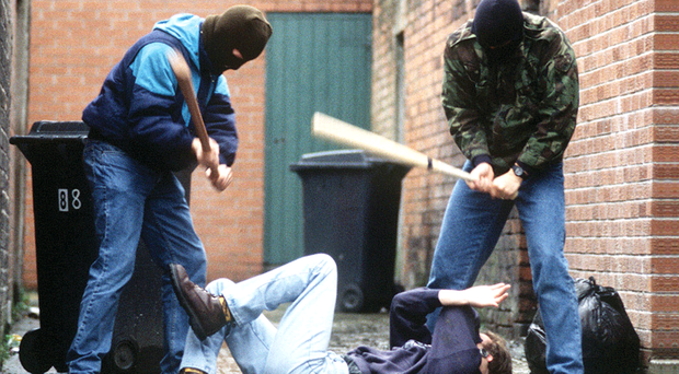 Latest PSNI figures show a worrying rise in attacks. Picture posed