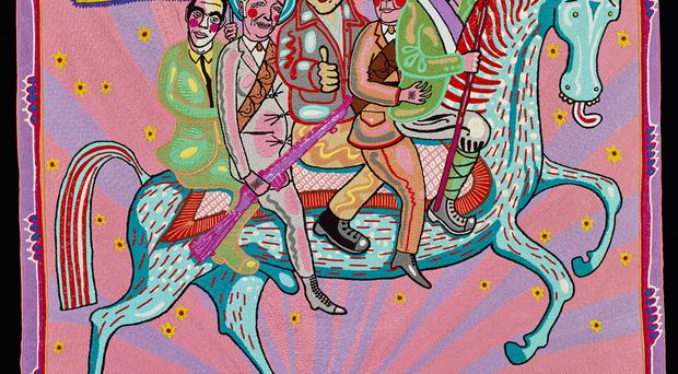 The artwork by Grayson Perry