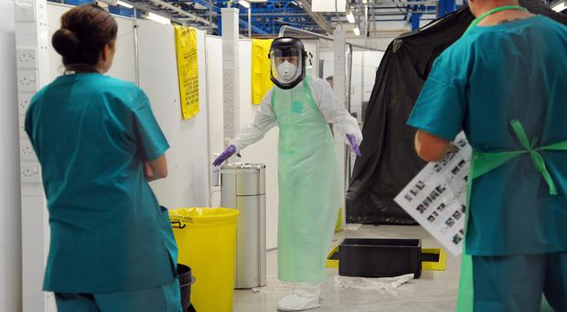 A man in Belfast is being tested for Ebola