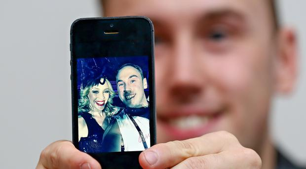 Sam Magee who had taken a selfie on stage with Kylie Minogue