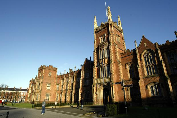 Queen's University in Belfast has been declared one of the top UK higher education institutions for research