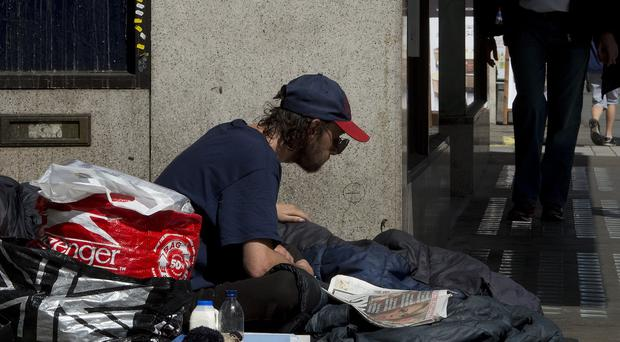 More than 4,000 people in Northern Ireland were homeless, figures showed