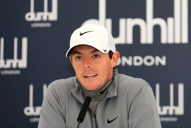 Suing: Rory McIlroy