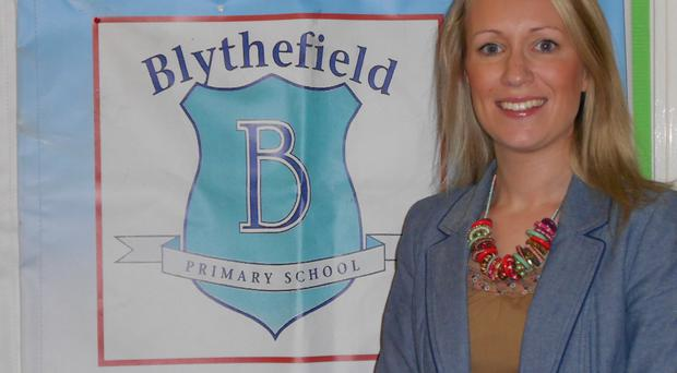 Catherine Roulston is principal of Blythefield Primary