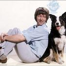 Blue Peter's John Noakes and Shep