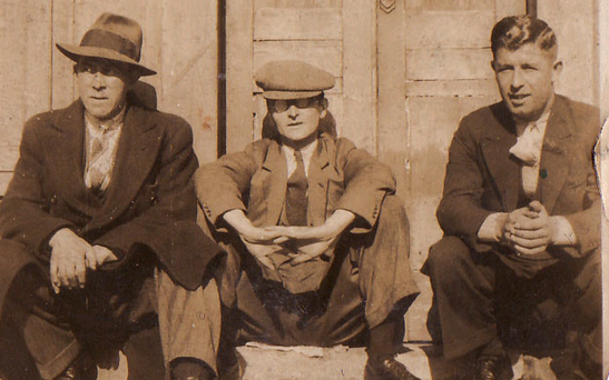 Who are these three men, and who does the photo belong to? Readers may be able to help us reunite the owner with the picture